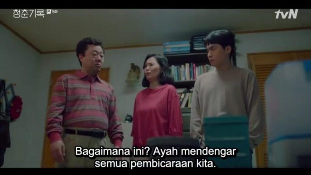 record of youth - kehidupan keluarga sa