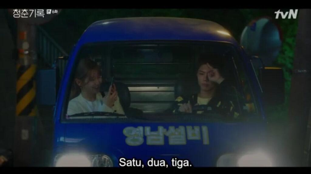 record of youth - ahn jeongha dan sa hyejun